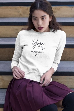 Avocadista Yoga is Magic Sweatshirt Pullover