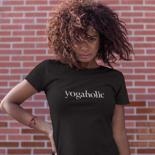 Avocadista Yogaholic Yoga T-Shirt