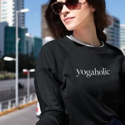 Avocadista Yogaholic Yoga Sweatshirt Pullover