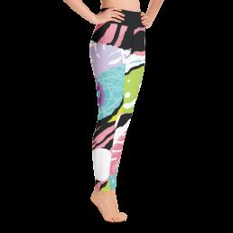 Avocadista Pop Art Yoga Leggings Pants Active Wear Pilates
