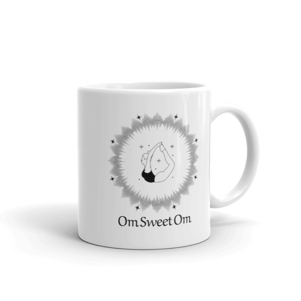 OM Sweet OM Yoga glossy mug