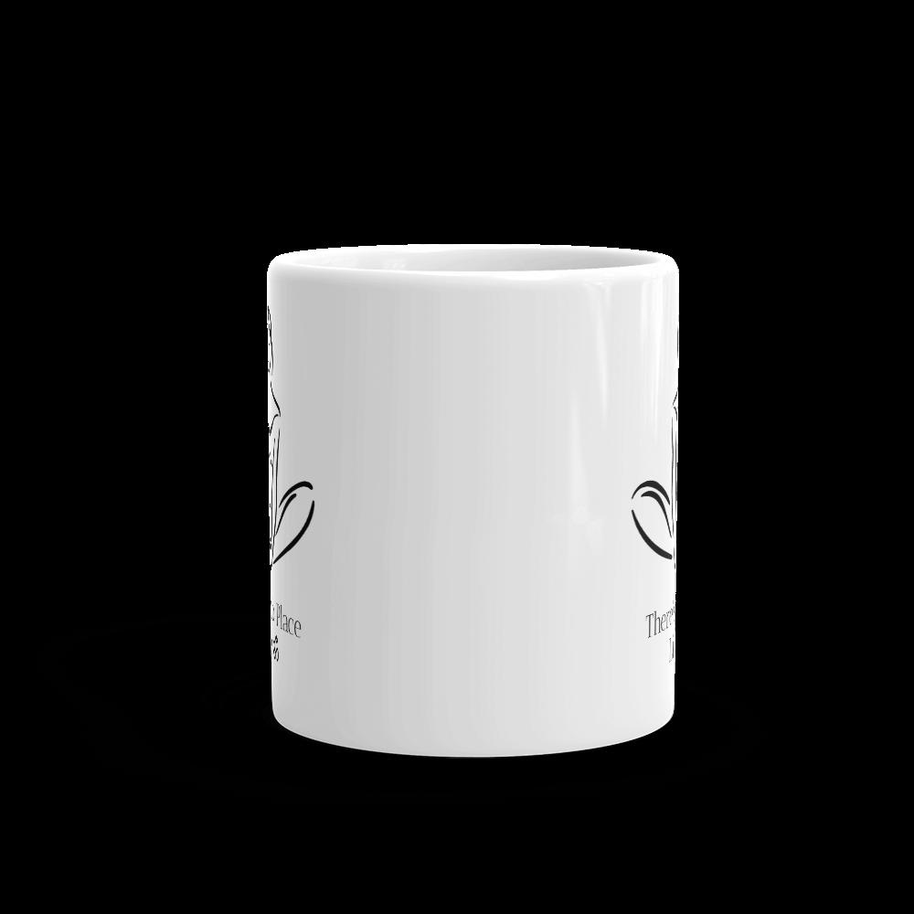 No Place Like OM Yoga Glossy Mug