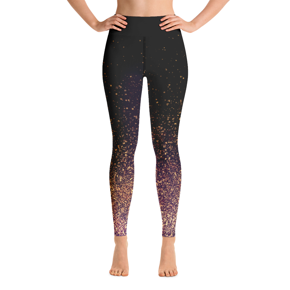 Avocadista Gold Dust Yoga Leggings Tights Pants Active Wear Pilates