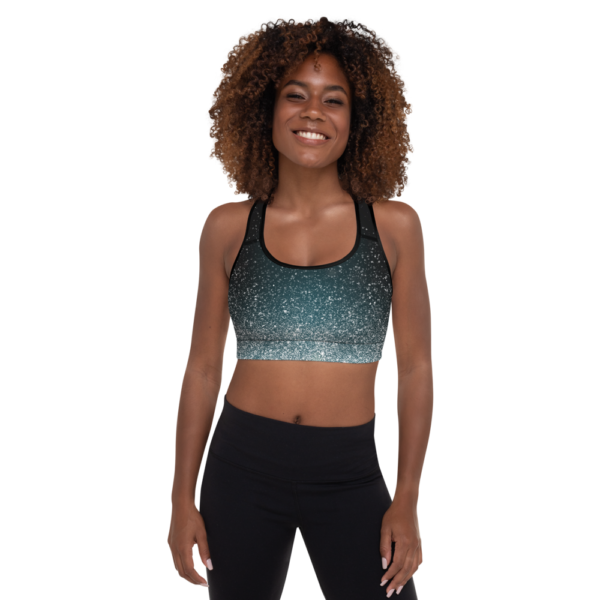 Avocadista White Dust Yoga Sports Bra Active Wear Pilates