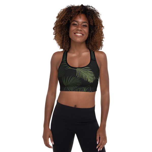Jungle Yoga Sports Bra Active Wear Pilates