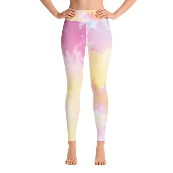 Tie Dye Yoga Leggings Pants Active Wear Pilates