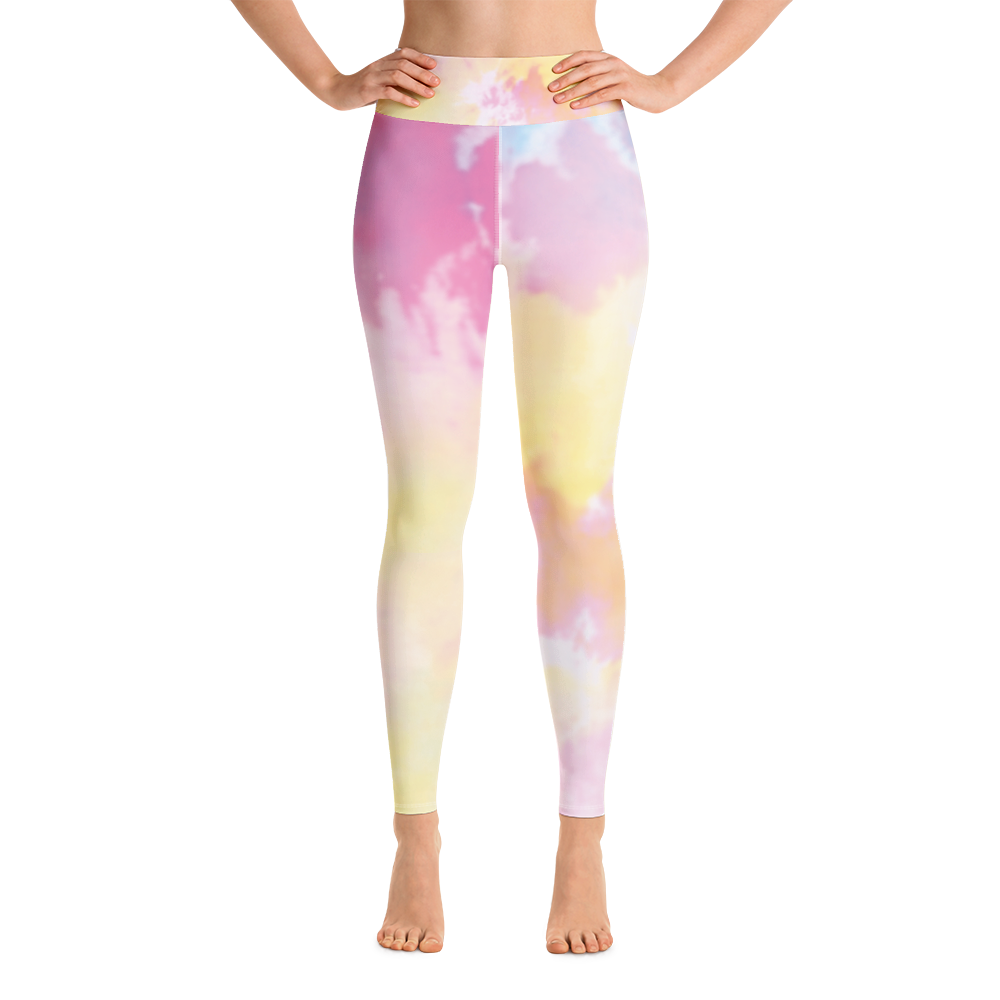 Tie Dye Yoga Leggings Tights Pants Active Wear Pilates