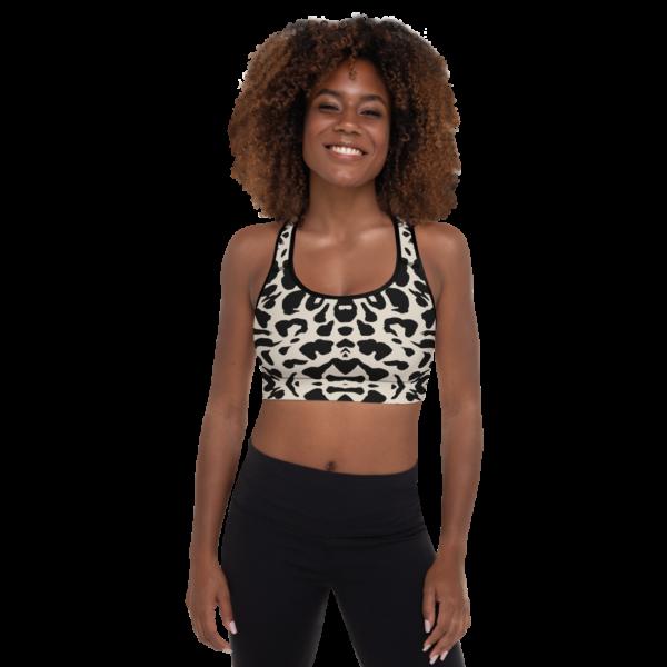 Safari Yoga Sports Bra Active Wear Pilates