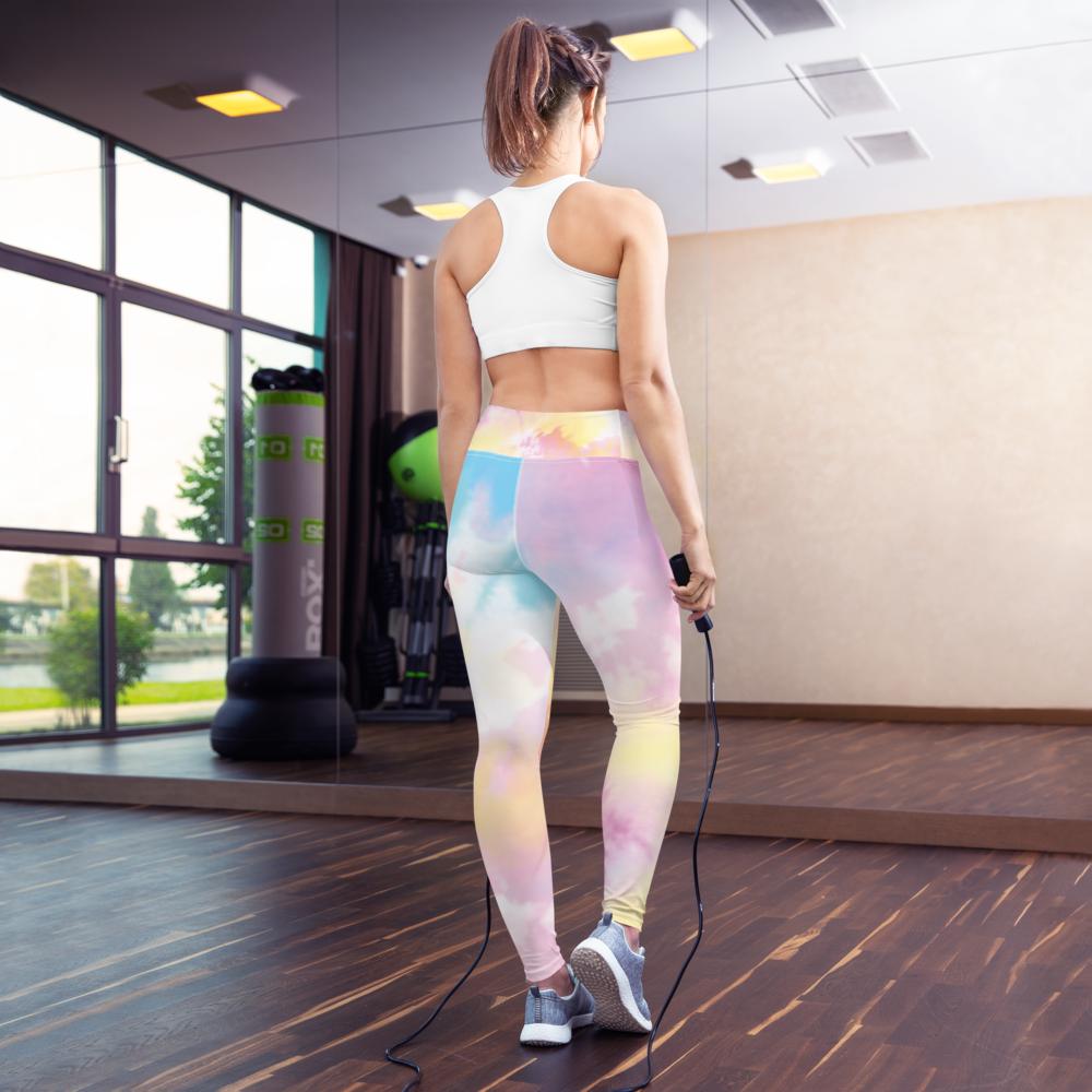Tie Dye Yoga Leggings Pants Active Wear Pilates