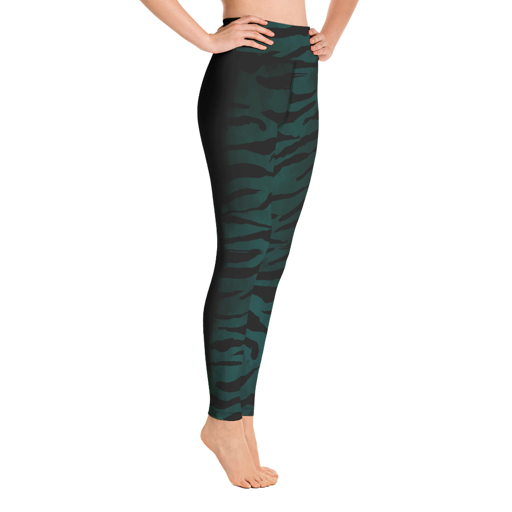 Emerald Spirit Yoga Leggings Pants Tights Active Wear Pilates