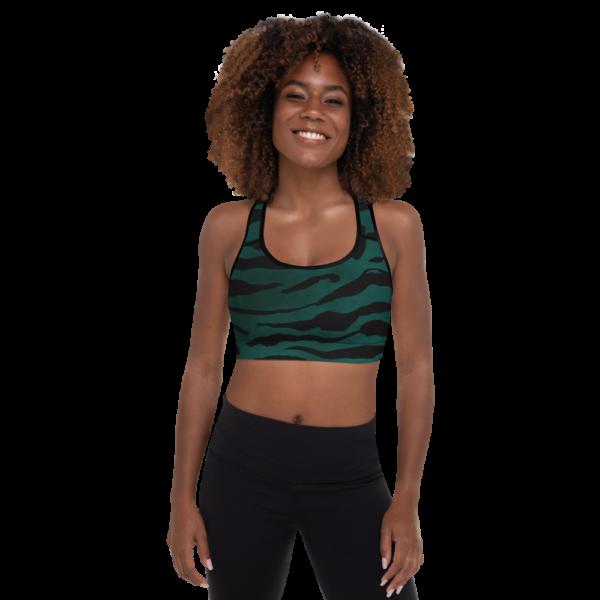 Emerald Spirit Yoga Sports Bra Active Wear Pilates